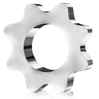 Glass cogwheel